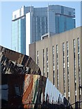 SP0686 : Buildings overlooking New Street Station by Philip Halling