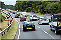 SX9082 : Traffic on the A380, Haldon Forest by David Dixon