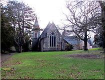 ST2896 : Northeast side of Holy Trinity Church, Pontnewydd, Cwmbran by Jaggery
