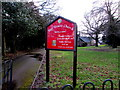 ST2896 : Information board on the approach to Holy Trinity Church, Pontnewydd, Cwmbran by Jaggery