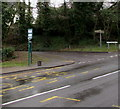 ST2996 : Grove Park bus stop, Cwmbran by Jaggery