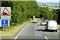 SX9084 : Northbound A380 near to Kennford by David Dixon