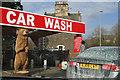 NT4737 : The A7 Car Wash at Galashiels by Walter Baxter