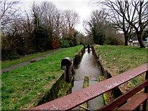 ST2896 : One of five locks, Five Locks, Cwmbran by Jaggery