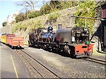 SH4862 : Welsh Highland Railway, Caernarvon by Eirian Evans