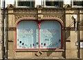 SK5739 : Showroom window, Union Chambers, Weekday Cross by Alan Murray-Rust