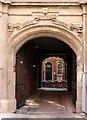 SK5739 : Birkin Building, Broadway, Nottingham, courtyard entry by Alan Murray-Rust