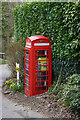 SK1983 : Former telephone kiosk, Thornhill by Ian S