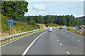 SX9797 : Northbound M5 near Poltimore by David Dixon