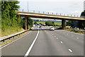 SX9795 : B3181 Bridge over the M5 Motorway by David Dixon