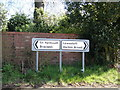 TM5099 : Roadsigns on Yarmouth Road by Adrian Cable