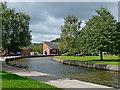 SJ8746 : Caldon Canal near Etruria in Stoke-on-Trent by Roger  Kidd