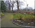 SJ9395 : Garden of Memory by Gerald England