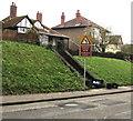 SO2900 : Reduce Speed Now/Arafwch Nawr, The Highway, New Inn by Jaggery