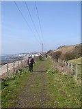 NO4202 : Railway path east of Lower Largo by Oliver Dixon
