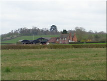 SO8843 : Dunstall Farm from Dunstall Castle by Jeff Gogarty