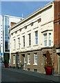SK5739 : Nottingham General Hospital Dispensary, 12 Broad Street, Nottingham by Alan Murray-Rust