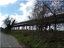 TM4599 : Haddiscoe Cut Bridge, St. Olaves by Adrian Cable