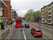 TQ3479 : A200, Jamaica Road, SE16 by Robin Webster