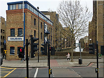 TQ3379 : St Saviour's Dock, Bermondsey by Robin Webster