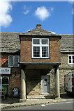 SY9682 : Porch on East Street, Corfe Castle by Derek Harper