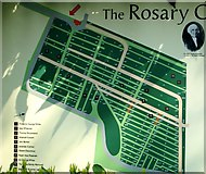 TG2408 : The Rosary Cemetery - site plan by Evelyn Simak