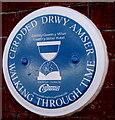 ST1190 : Gwern y Milwr Hotel blue plaque, Senghenydd by Jaggery