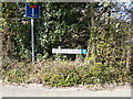 TM4797 : Marsh Lane sign & roadsign by Adrian Cable