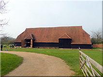 TL8422 : Coggeshall Grange Barn by PAUL FARMER