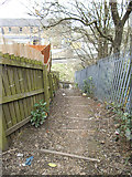 SE0641 : Steps from Parkwood Street to Low Mill Lane by Stephen Craven