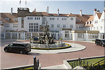 NS2005 : Turnberry Hotel main entrance by Malcolm Neal