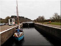 NH6140 : Lock at Dochgarroch by Douglas Nelson