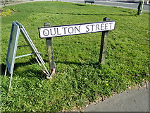 TM5294 : Oulton Street sign by Adrian Cable