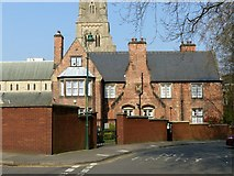 SK5639 : Nottingham Cathedral Presbytery by Alan Murray-Rust