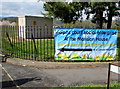 ST3091 : Banner on a Malpas corner, Newport by Jaggery