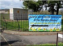 ST3091 : Banner on a Malpas corner, Newport by Jaggery