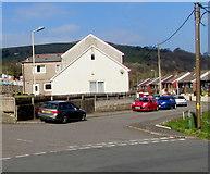 ST1289 : Aberfawr Terrace, Abertridwr by Jaggery
