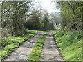 NZ2026 : Haggs Lane, heading south from Burnshouse Lane by Christine Johnstone