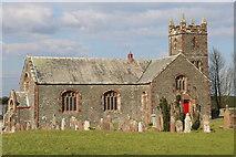 NX6248 : Borgue Church and Kirkyard by Billy McCrorie
