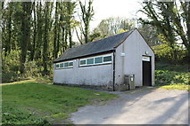 NX6548 : Toilet Block at Nun Mill Bay by Billy McCrorie