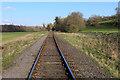 NZ0636 : Weardale Railway approaching Wolsingham by Chris Heaton