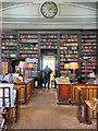 SJ8498 : Portico Library (interior) by David Dixon