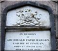 NO5597 : Arms of Farquharson of Finzean by Bill Harrison