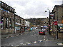 SE1115 : Market Street, Milnsbridge (1) by Richard Vince