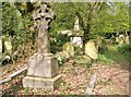 TG2408 : The grave of Isaac Bugg and Susanna Coaks by Evelyn Simak
