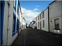 NO4102 : Main Street, Lower Largo by Richard Sutcliffe