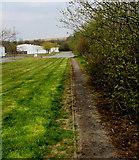 SO1110 : Path into Tafarnaubach Industrial Estate by Jaggery