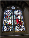 TQ1068 : St Mary, Sunbury-on-Thames: stained glass window (4) by Basher Eyre