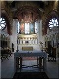 TQ1068 : St Mary, Sunbury-on-Thames: altar (2) by Basher Eyre