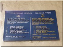 TQ1667 : Inside St Nicholas, Thames Ditton (A) by Basher Eyre